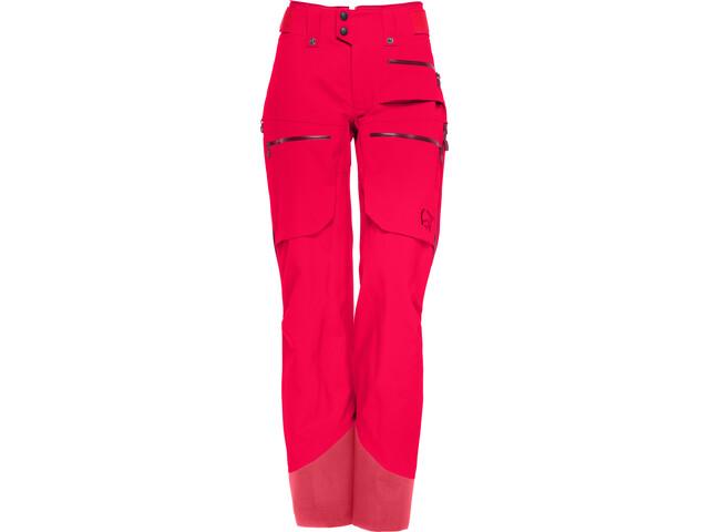 Norrøna Lofoten Gore-Tex Pro Pants Dame crisp ruby